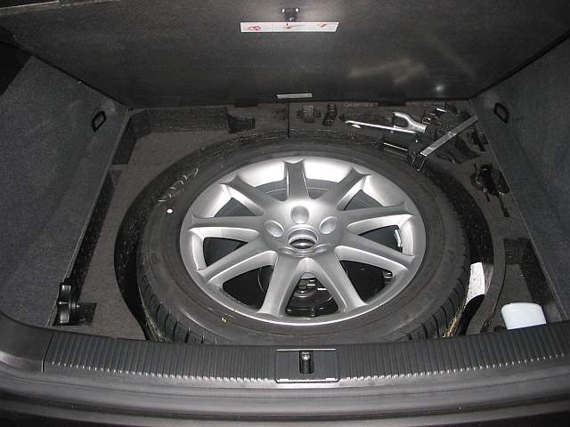 Vwvortex Com Would A Full Size Spare Fit In The A3 Spare